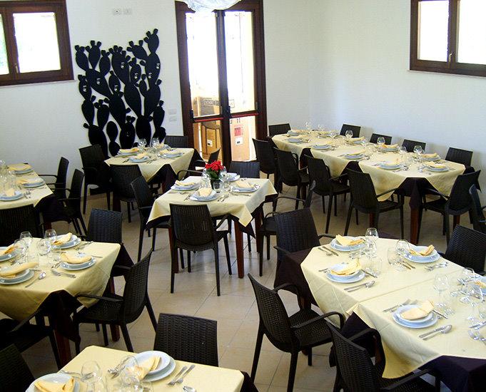 Sala Ristorante agriturismo Otranto langela